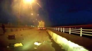 Набережные Челны,авария на плотине в сторону города
