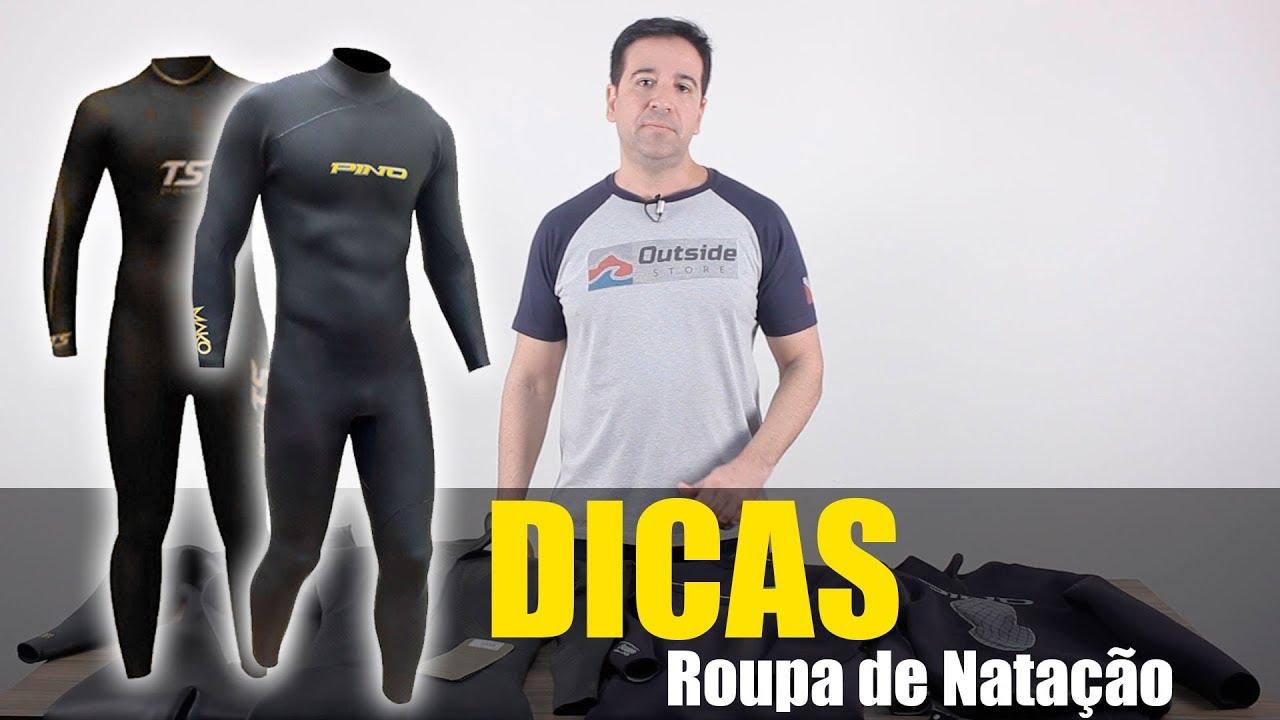 4db6d8a60 Wetsuits ou Roupa de Natação e Triathlon - YouTube