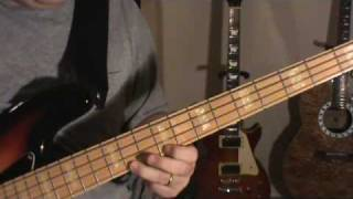 "Led Zeppelin - ""Ramble On""  Bass lesson - instruction"