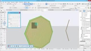 Modern Building Design - Archicad 20 - part 4 - Create pattern