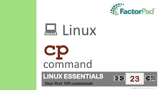 Linux Cp Command Summary With Examples
