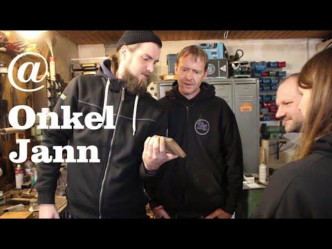 Besuch bei Onkel Jann, Feldschmiede Neu Ekels mit Küstenholz und Konterholz