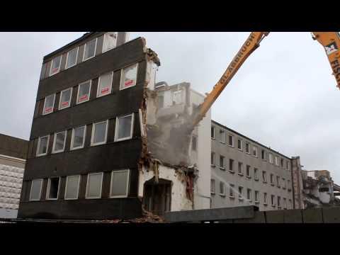 Abriss Der Alten Raume Von Radio Vest An Schaumburgstr 14 16 In Recklinghausen