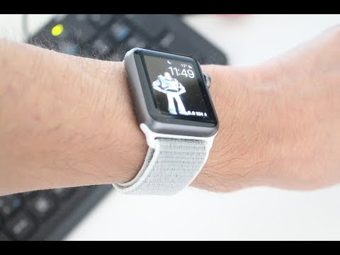 the latest 4b2e0 df06b Seashell Sport Loop Band Review