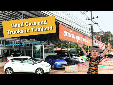 Used Cars & Pick Ups Reviews in Udonthani Thailand