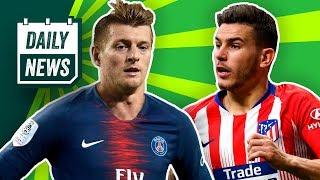FC Bayern: Hernandez-Transfer fix? Kroos zu PSG? Jovic zu Barcelona? BVB will Hudson-Odoi!