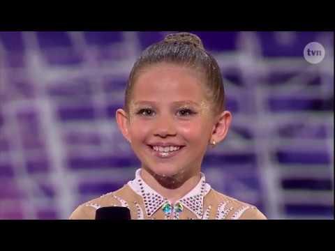 TEGO NIE BYŁO W TV! Ta dziewięciolatka zauroczyła jurorów [Mam Talent!]