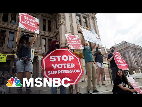 Local Activists Rally To Send Message To Senators On Voting Rights