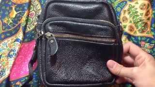 Comprei Mostrei: bolsa couro preta Thumbnail