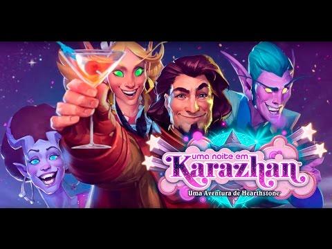 Hearthstone Uma Noite em Karazhan -...