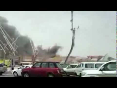 Villagio devastated by fire - YouTube.flv