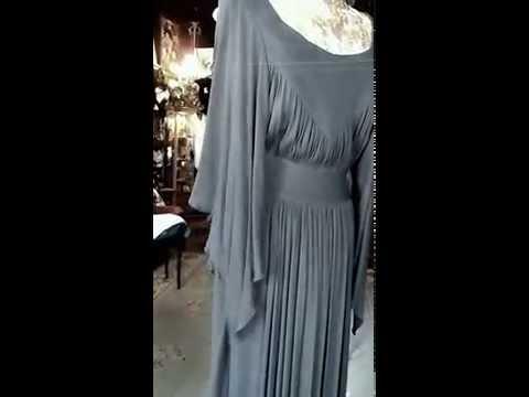 MOOSHY LA LA OSSIE CLARK for QUORUM DRESS