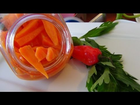 Receta de encurtido de zanahoria preparar encurtido de zanahoria youtube - Encurtido de zanahoria ...
