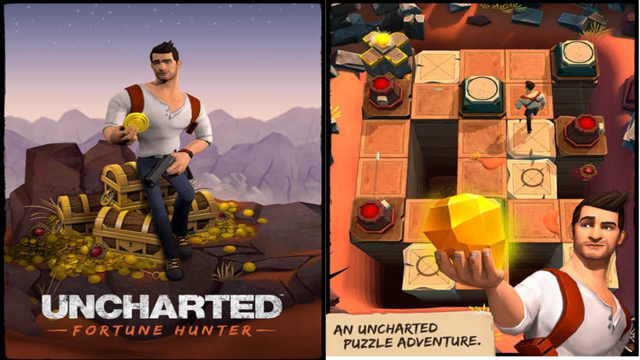 """لعبه UNCHARTED: Fortune Hunter™ v1.0.8 مهكره جاهزه """"جديده رائعه"""""""