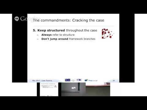 Crack the case - (part 2 of 4) - Case Interview Commandments - Português