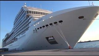MSC Magnifica cruise Middellandse zee oostelijke  2012  (dutch short version)