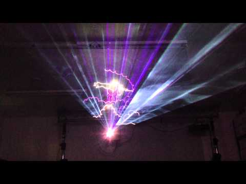 NRG 3000 RGB MINI PRO ILDA 30K Laser Light Projector