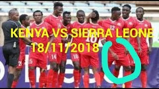 Prédiction : KENYA VS SIERRA LEONE