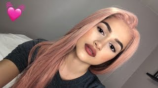 AMAZON WIG REVIEW | K'ryssma Pink Lace Front
