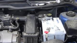 Peugeot 206 + Changer sa batterie