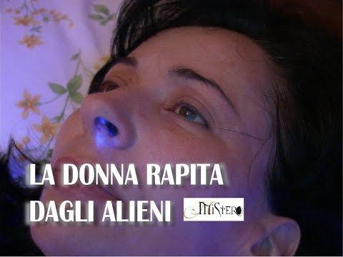 La donna rapita dagli alieni
