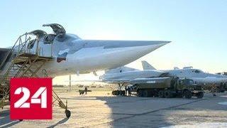 Ту-22М3 разбомбили террористов в Дейр-эз-Зоре - Россия 24