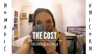 HOW MUCH DOES IT COST TO BACKPACK AUSTRALIA?