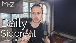 Daily Sidereal Astrology Horoscope: Thursday October 15th 2015