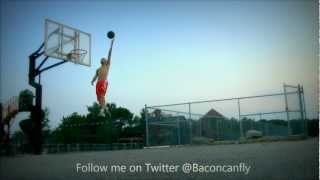 One Of The Most Underrated Dunkers?? - Tanner Bacon - 18 Years Old - 45in Vertical