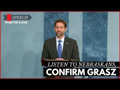 Ben Sasse: Listen to Nebraskans, Confirm Grasz