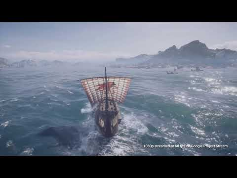 Assassins Creed Odyssey • Project Stream Gameplay Capture • Google