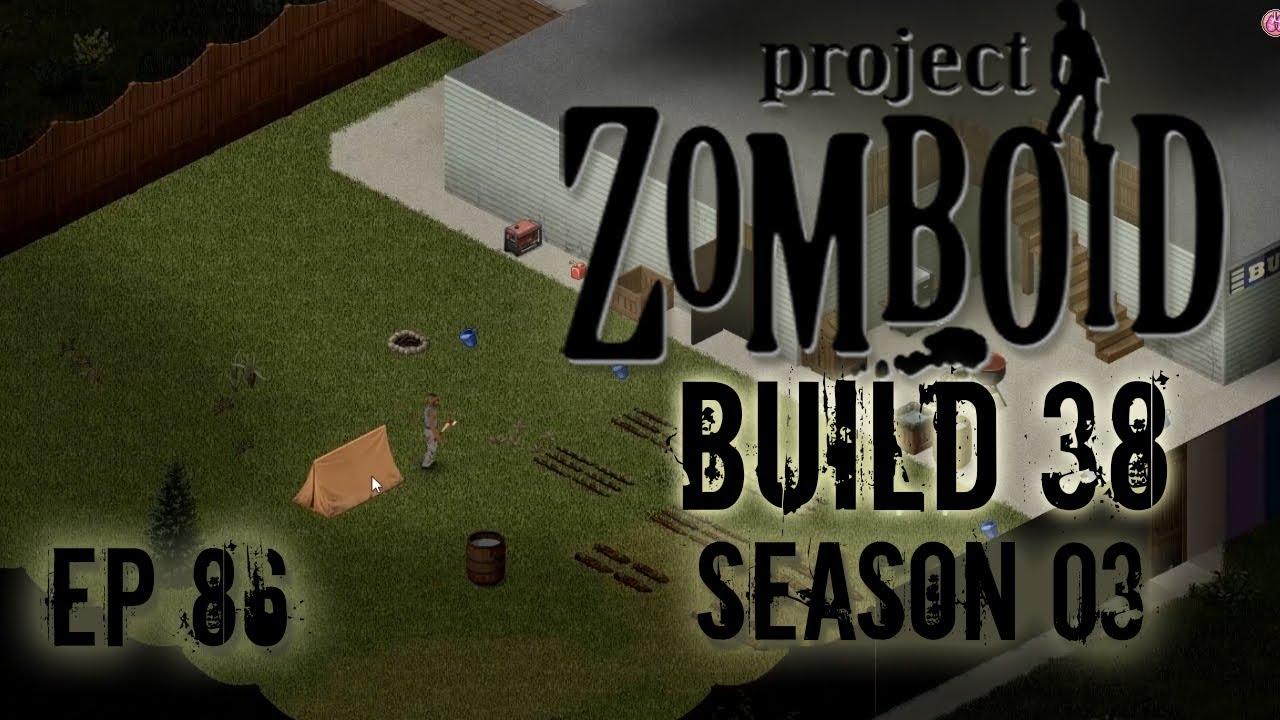 PROJECT ZOMBOID Season 20   Tent   Ep 20   Let's Play Project Zomboid