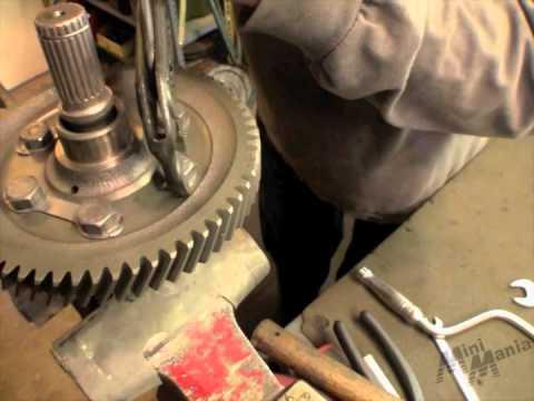 Classic Mini Differential Rebuild Part 1 Youtube