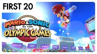 Mario & Sonic at the Olympic Games Tokyo 2020 | First20