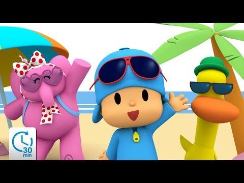 Pocoyo - Summer Bundle 2017! | 30 minutes