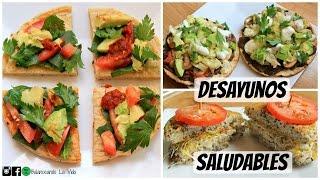 Desayunos rápidos y saludables (Salados)