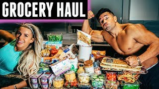 MASSIVE GROCERY HAUL TO GET SHREDDED | SUMMER SHREDDING EP 03