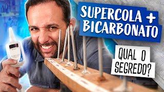 Supercola + bicarbonato: qual o segredo?
