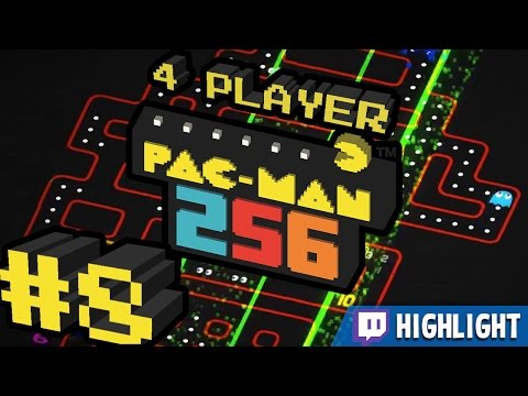 Pac-Man 256 - #8 - LASER BEAMS! (Twitch Highlight)