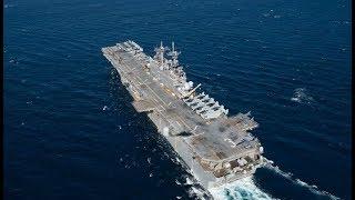 Exclusiva: La Flota de Estados Unidos se retira para ayudar en el Huracán Harvey