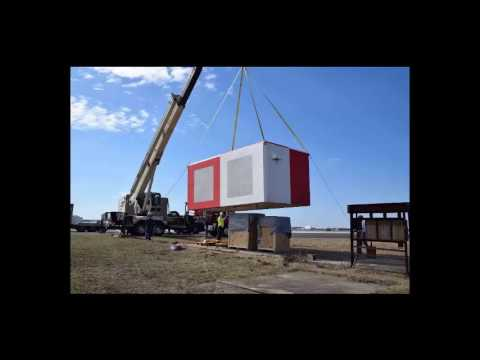 Is a Shelter Works Fiberglass Building RF Transparent?