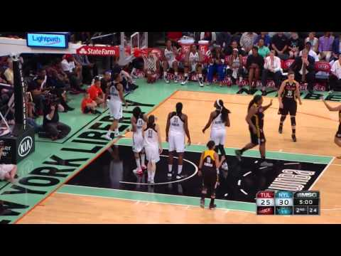 Condensed Game: Tulsa Shock vs. New York Liberty,7/1/2014