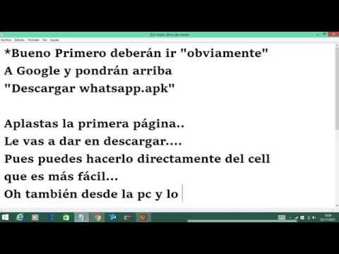 Descargar Whatsapp sin