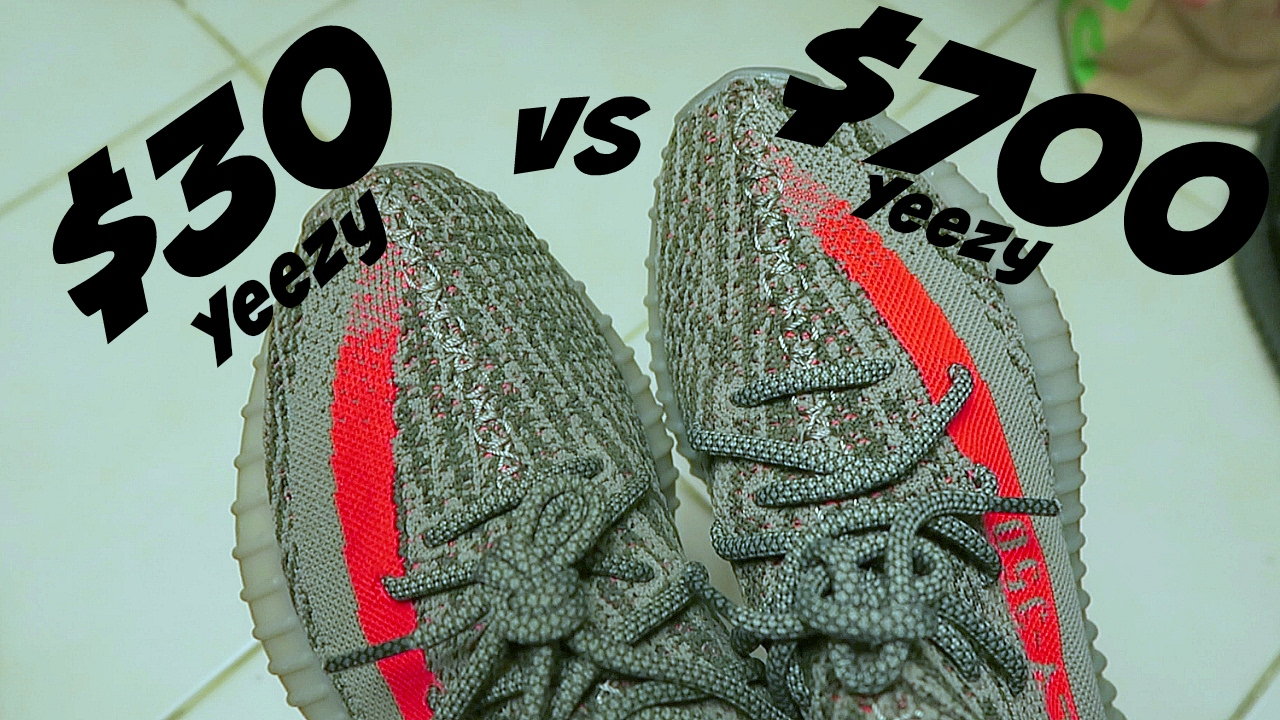 de653218f COMPARING  30 YEEZY VS  700 YEEZY - YouTube