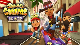 Subway Surfers: Los Angeles - Sony Xperia Z2 Gameplay