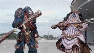 Могучие рейнджеры первые битвы шестых рейнджеров (Самураи-Дино заряд)