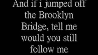 3 Doors down - So i need you (with lyrics)