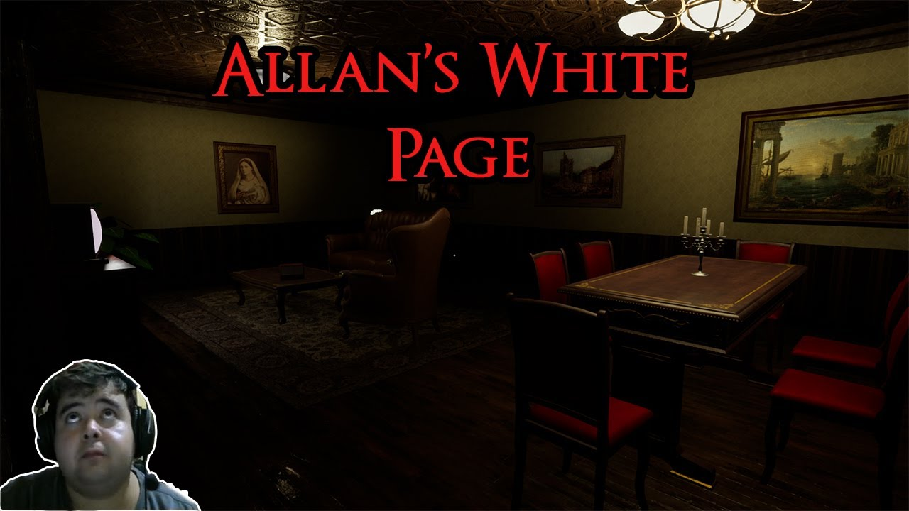 Quadros Bizarros!!! Allans White Page