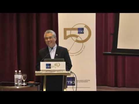 MIA 50th Anniversary Commemorative Lecture by YBhg Tan Sri Dato' Azman Mokhtar.   Part 1