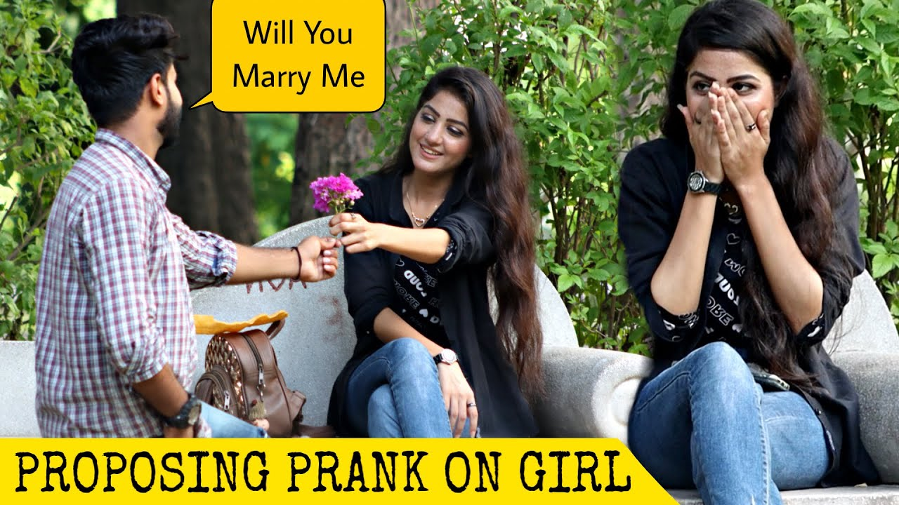 Proposing Prank On Cute Girl Turns into Date @That Was Crazy